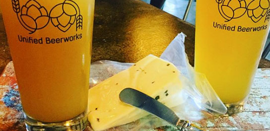 Unified Beerworks Beer and Cheese